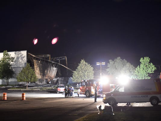 Gap Warehouse Fire Aftermath