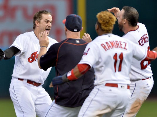 MLB: Miami Marlins at Cleveland Indians