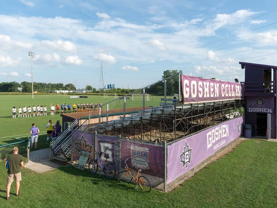 Goshen College has not played the national anthem before
