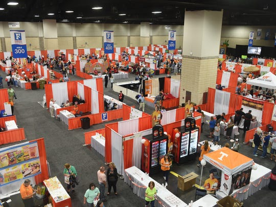 The Food City Food Show at the Knoxville Convention Center in an October 2016 file photo.