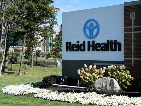 Reid Health Thursday, Oct. 13, 2016 along Chester Blvd.