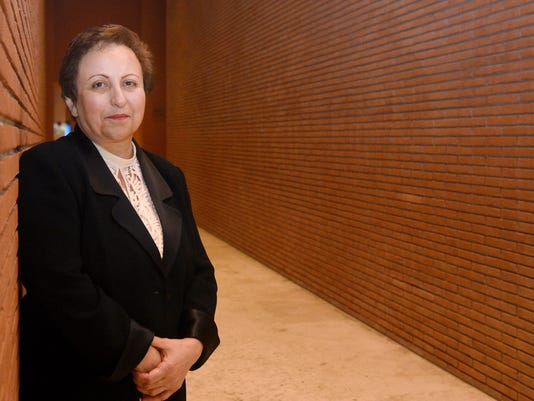ITALY-NOBEL-SUMMIT-EBADI