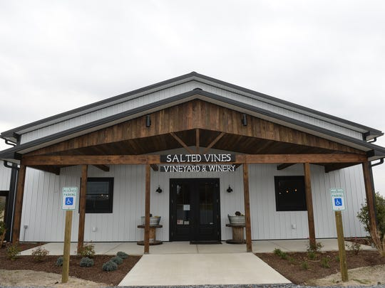 Salted Vines Vineyard and Winery recently opened in Frankford, Delaware.