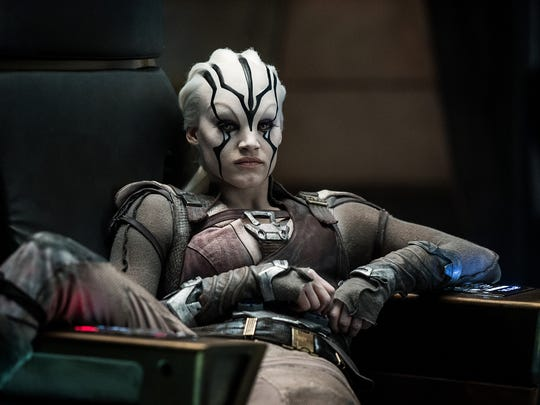 Sofia Boutella starred as Jaylah in 2016's 'Star Trek