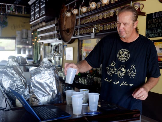 Pete Anderson, owner of Pareidolia Brewing Brewing Company, in Sebastian, predicts microbreweries could thrive in Martin County if commissioners approve new land-use rules to allow the industry to operate.