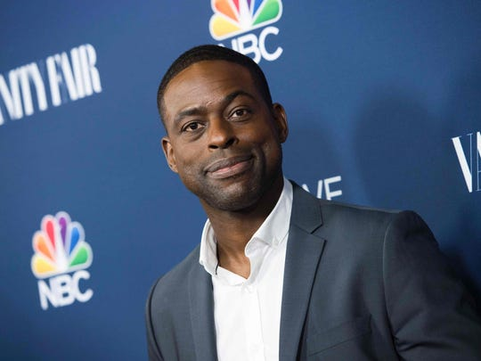 Sterling K. Brown looked like all of us watching a