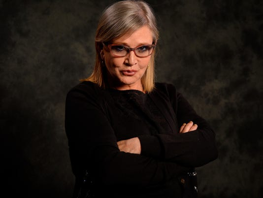 USP ENTERTAINMENT: CARRIE FISHER A ENT USA NY