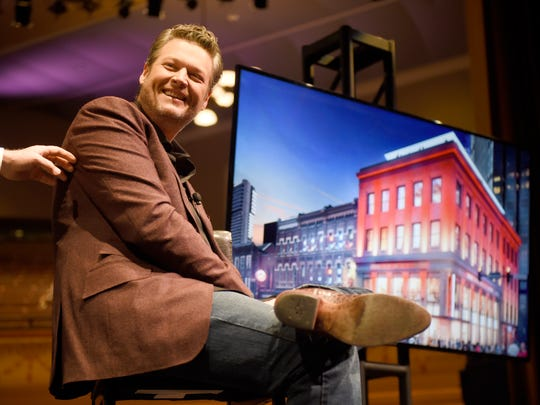 Blake Shelton announced Thursday his joint partnership with Ryman Hospitality to launch a new bar on lower Broadway called Ole Red.