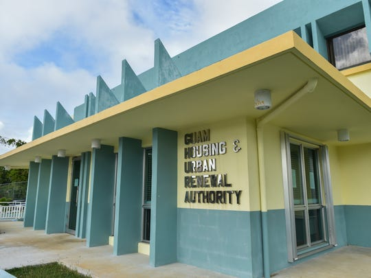 The Guam Housing and Urban Renewal Authority building is photographed in Sinajana on Jan. 9, 2017.
