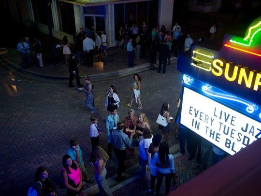 The Treasure Coast's two historic theaters, The Sunrise