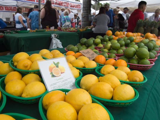 The Downtown Fort Pierce Farmers' Market happens every Saturday from 8 a.m. to noon, rain or shine. There's live music, dancing, and more than 70 food, plant and craft vendors.