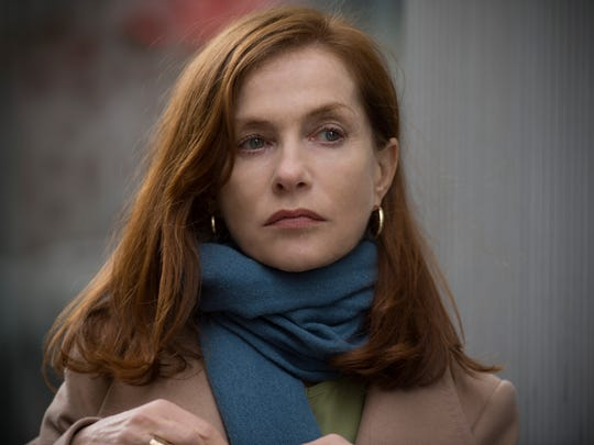 "Isabelle Huppert in ""Elle."""
