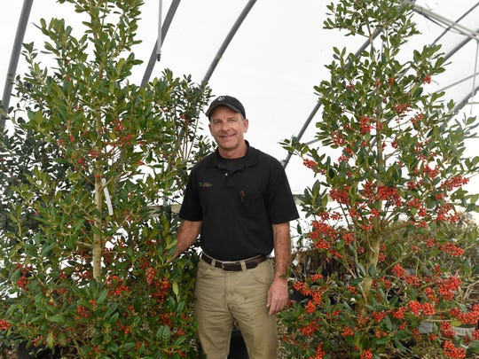 Chris Combs is retiring after 35 years of owning Combs Landscape and Nursery on North Burkhardt Road in Evansville.