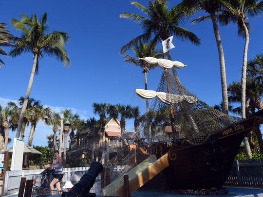 During the day, residents of Disney's Vero Beach Resort