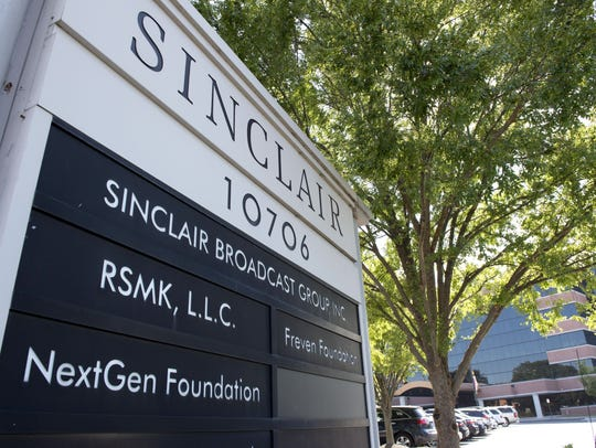 Sinclair Broadcast Group headquarters in Baltimore,