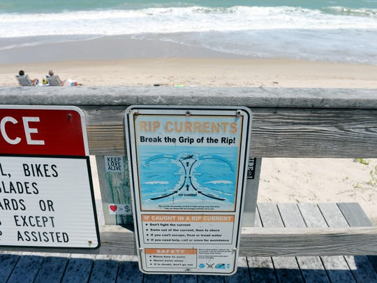 High winds and strong rip currents will make for dangerous