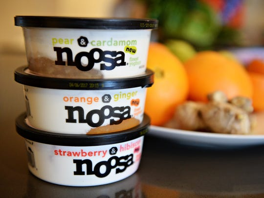 Noosa Yogurt recently released new flavors: Pear &