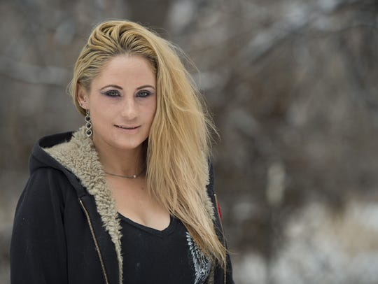 Rebecca Waechter became addicted to heroin after being