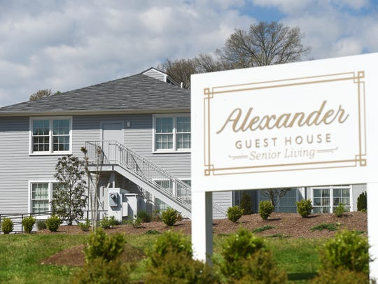 The Alexander Guest House is one of a half-dozen assisted-living