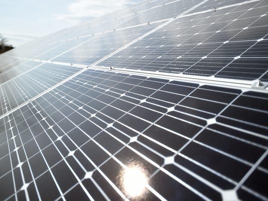 Cope Environmental Center solar
