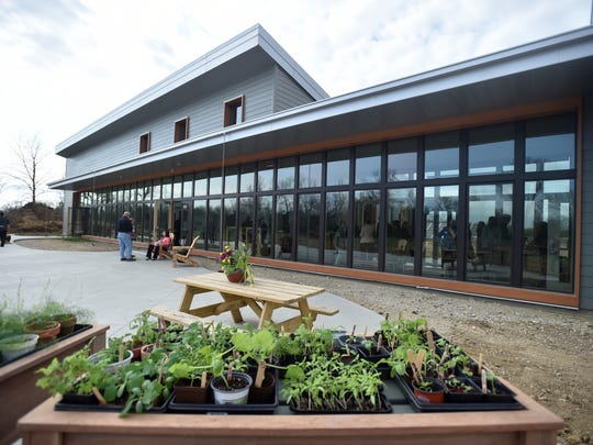 Cope Environmental Center hosts an open house Thursday, April 13, 2017 to officially open the new Sustainable Education Center in Richmond.