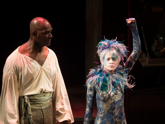 "A scene from ASF's production of ""The Tempest"""