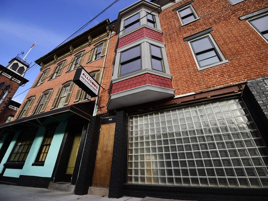 Taste Test is expected to open the second of two buildings (right) in York in May.