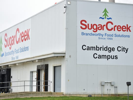 The SugarCreek plant Friday, April 28, 2017 in Cambridge