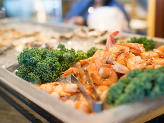 Enjoy a raw bar during Rooney's Oceanfront Restaurant's this Mother's Day.