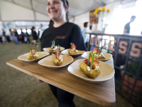 Top Valley chefs will return to azcentral.com Food & Wine Experience on Nov. 4-5 at Salt River Fields at Talking Stick.