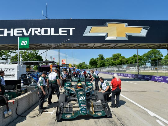 With two races in two days at the Chevy Dual in Detroit,