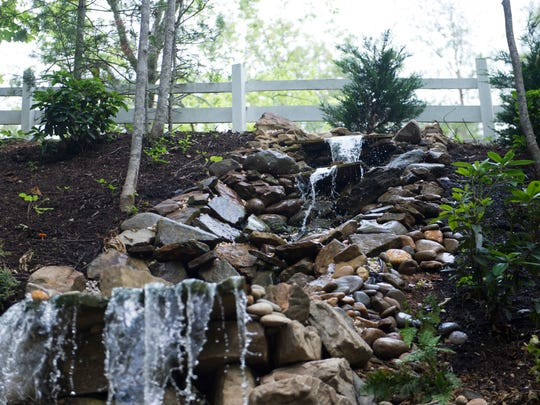 """""""Cupid's Waterfall"""" is a new feature at Chapel in the"""