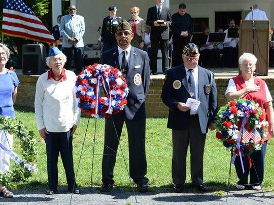 Memorial Day remembrance 2017 in Staunton's Gypsy Hill
