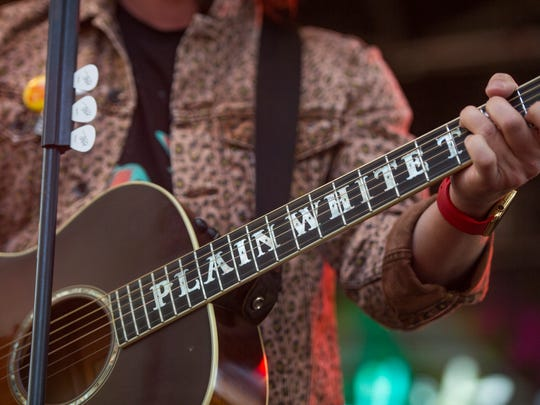 Plain White T's performs at Taste of Fort Collins on Friday, June 9, 2017.