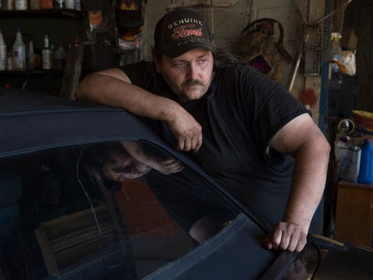 After 11 years working in coal, Keith Stanton's back
