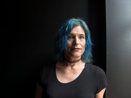 """I'm a human being whether they accept me or not,"" Grazyna said. ""This is not a choice or a lifestyle. Why would anyone want this? I want it because it's me and I want to be me. But it's dangerous."""