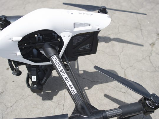 A drone the Fort Collins Police will use.