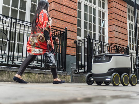 Personal Delivery Devices, or delivery robots, now