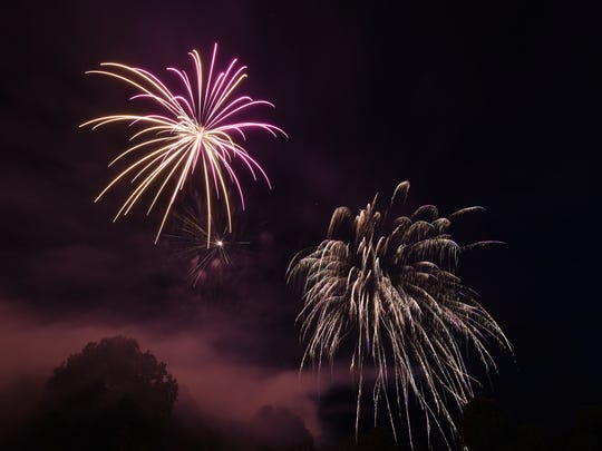 Fireworks shows planned for lakes, cities the week of ...