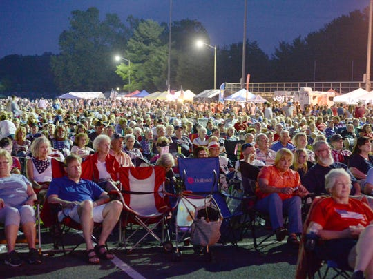 Thousands came out for the Wilson Fairchild concert