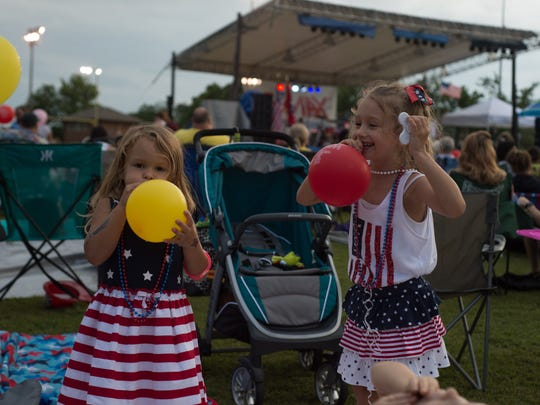 The Hendersonville Freedom Festival draws a large crowd at Drakes Creek Park on Monday, July 3.