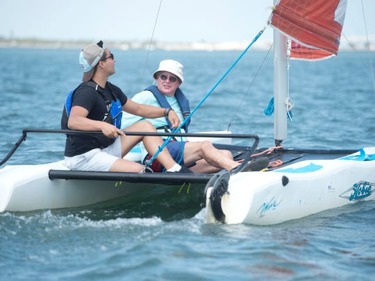 The US Sailing Center in Jensen Beach has teamed up with the River Kidz for an event scheduled for Saturday.