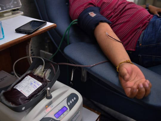 Valley cities are competing to see whose residents will donate more blood in July.