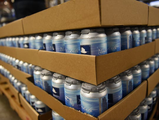 Sailfish Brewing Company is now canning its flagship