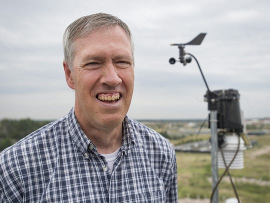 State Climatologist Nolan Doesken poses for a photo