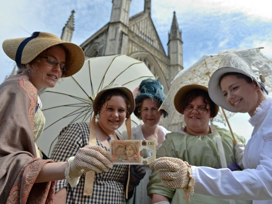 Two hundred years after Jane Austen's death, Britain