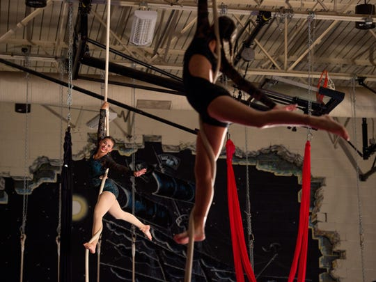 The annual Aerial Antics Youth Circus will perform