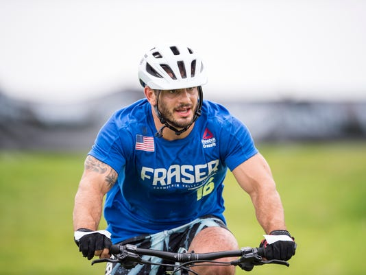 Mat Fraser bike CrossFit