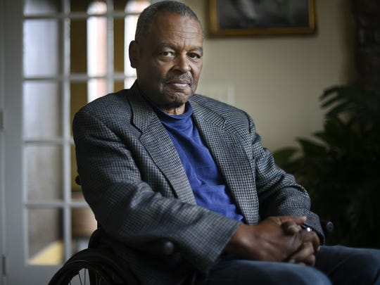 Walter Searcy, who was a student activist at Fisk University in the 1960s and 1970s, and participated in protests after the assassination of Martin Luther King Jr., has advocated for racial justice throughout his life.