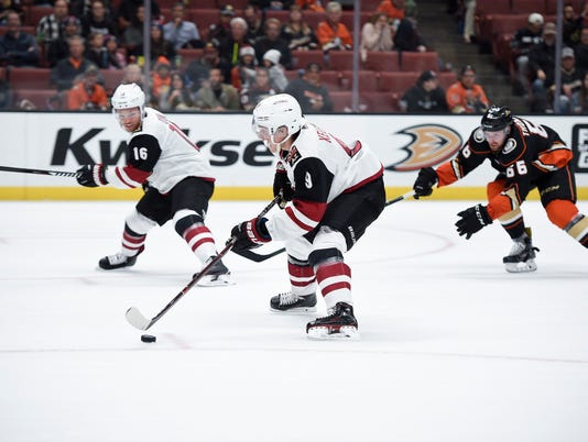NHL: Preseason-Arizona Coyotes at Anaheim Ducks